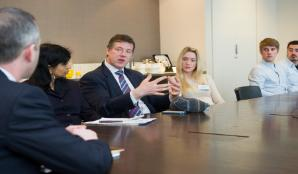 Employers visiting London Met
